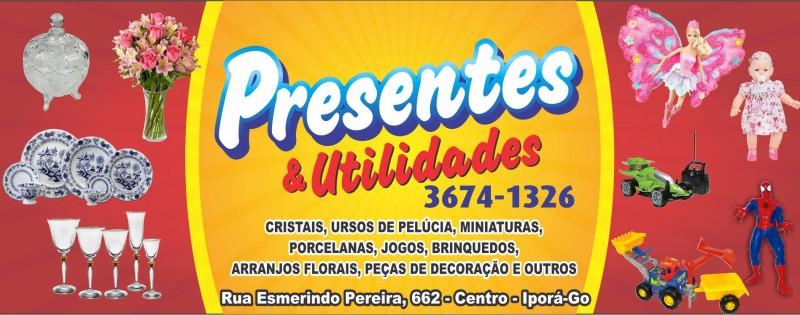 PRESENTES  E UTILIDADES