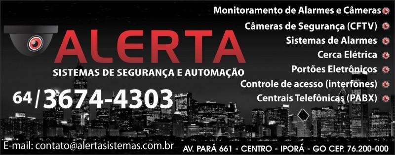 ALERTA - SISTEMA DE SEGURANÇA E AUTOM.