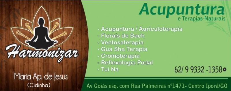 ACUPUNTURA E TERAPIAS -  HARMONIZAR