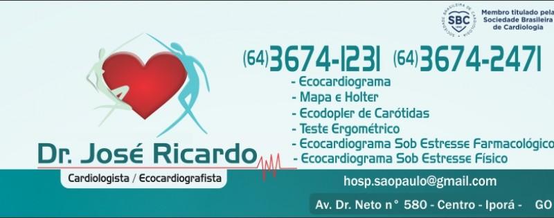 CARDIOLOGISTA | DR. JOSÉ RICARDO