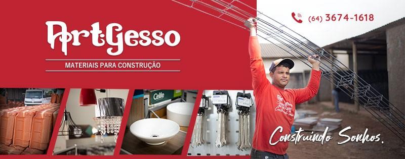 ART GESSO - MATERIAIS P/ CONSTRUÇÃO