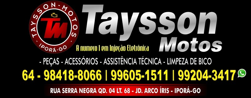 MOTOS - TAYSSON MOTOS
