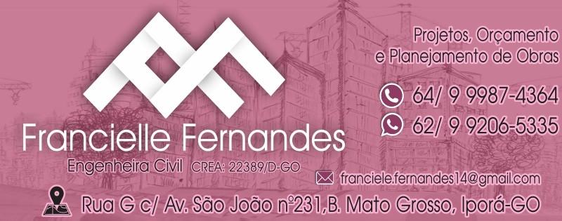 ENGENHARIA -  FRANCIELLE FERNANDES