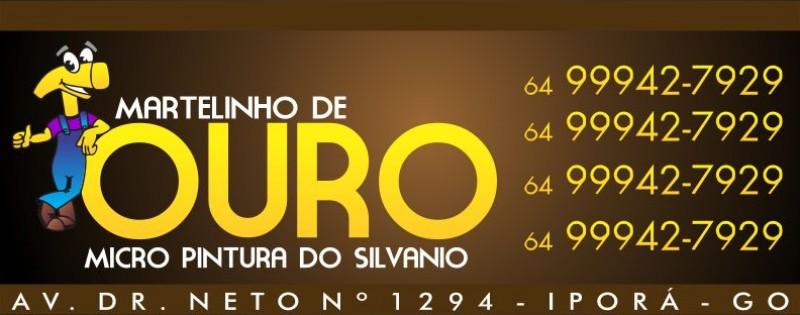 MARTELINHO DE OURO - SILVANIO