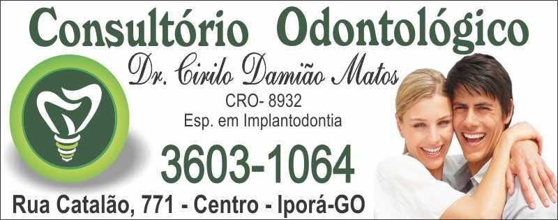 DR. CIRILO DAMIÃO MATOS - ODONTÓLOGO