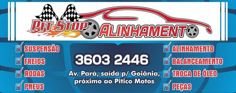 PIT STOP ALINHAMENTO