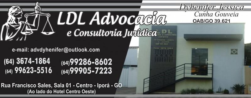 ADVOCACIA - LDL ADVOCACIA DRª DYHENIFER