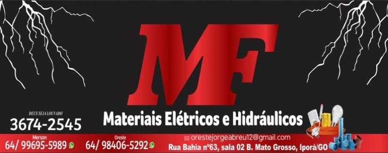 MF - MATERIAIS ELÉTRICOS E HIDRÁULICOS