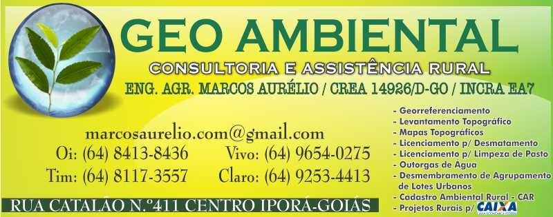 AGRIMENSURA - MARCOS AURÉLIO - GEO