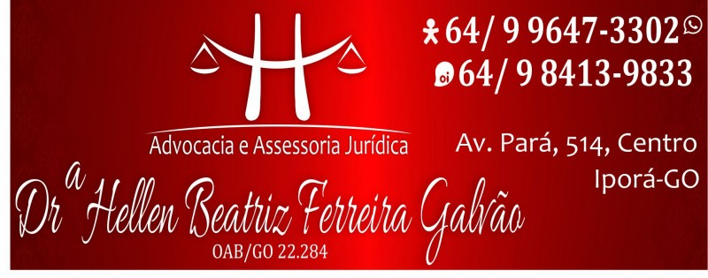 HELLEN BEATRIZ F. GALVÃO - ADVOGADA