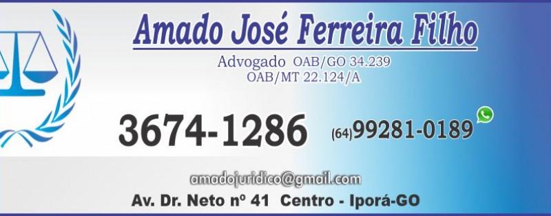 ADVOCACIA - AMADO JOSÉ FERREIRA FILHO