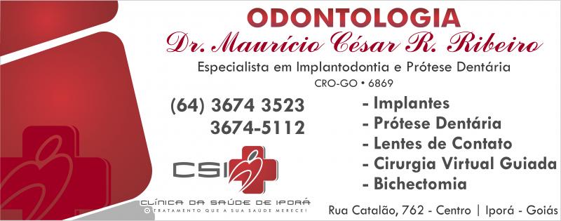 DR. MAURÍCIO CÉSAR R. RIBEIRO