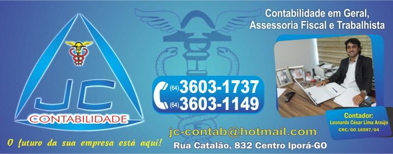 ESCR. DE CONT. -  JC CONTABILIDADE