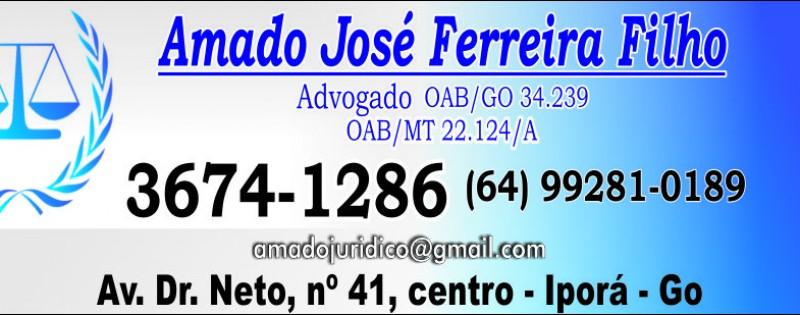 ADVOCACIA - AMADO J. FERREIRA FILHO