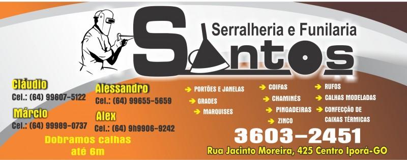 FUNILARIA E SERRALHERIA SANTOS