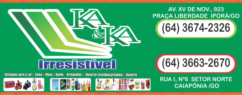 KA & KA IRRESISTÍVEL