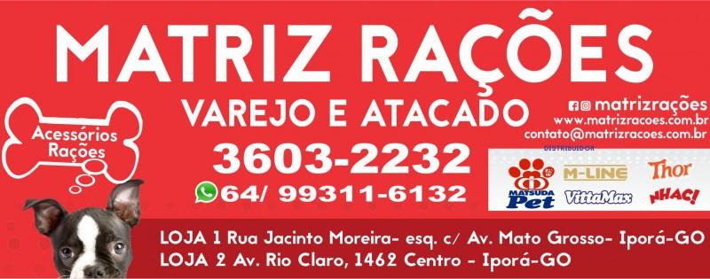 MATRIZ RAÇÕES - PET SHOP