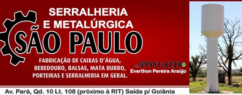 SERRALHERIA E METALÚRGICA SÃO PAULO