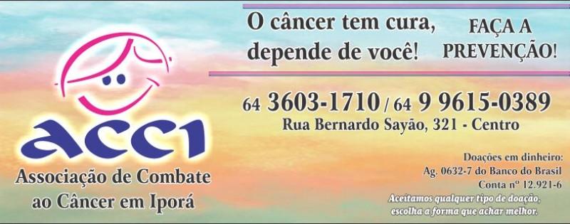 ACCI - ASSOCIAÇÃO DE COMBATE CÂNCER