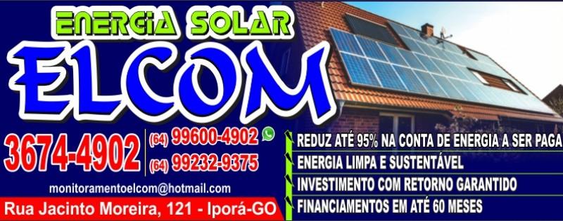 ENERGIA SOLAR ELCOM
