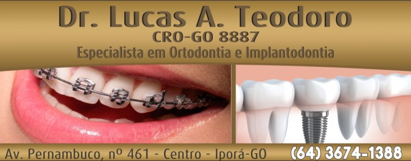 DENTISTA - DR. LUCAS - ORTOD. / IMPLANT