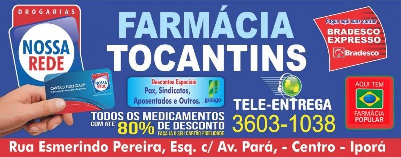 FARMÁCIA TOCANTINS