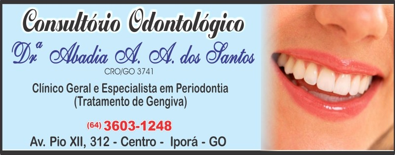 CONSULT.  ODONTO - DRª ABADIA