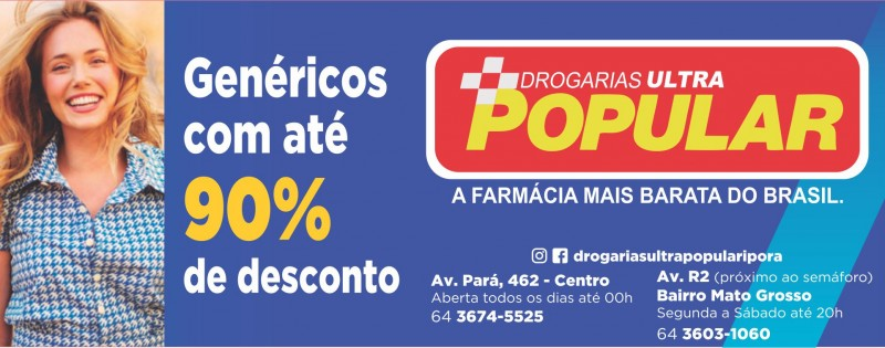 FARMÁCIA - DROGARIAS ULTRA POPULAR