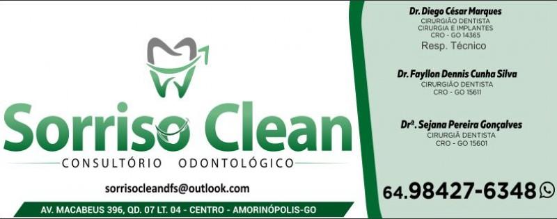 SORRISO CLEAN - CONSULTÓRIO ODONTOLÓGICO