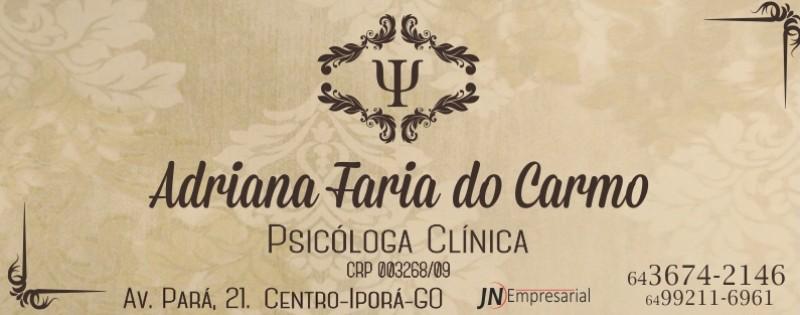 PSICÓLOGA - ADRIANA FARIA DO CARMO